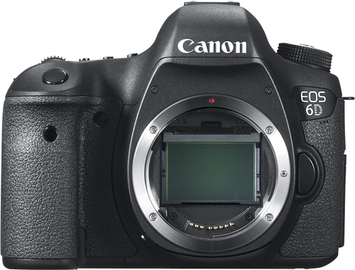 Canon - EOS 6D DSLR Camera (Body Only) - Black largeFrontImage