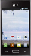 NET10 - LG Optimus Extreme No-Contract Mobile Phone - Black