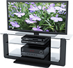 "Sonax - Atlantic Collection TV Stand for Most 37"" - 55"" Flat-Panel TVs"