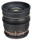 Bower - 16mm T/2.2 Wide-Angle Cine Lens for Select Sony NEX (E-Mount) Digital Cameras - Black