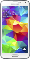 T-mobile Prepaid - Samsung Galaxy S 5 4g No-contract Cell Phone - White