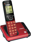 VTech - CS6619-16 DECT 6.0 Expandable Cordless Phone - Red