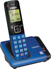 VTech - CS6619-15 DECT 6.0 Expandable Cordless Phone - Blue