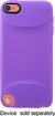 Incase - Grip Cover for 5th-Generation Apple® iPod® touch - Purple