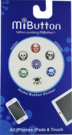 MiButton - Dot Stickers for Apple® iPod®, iPhone® and iPad® - Multi