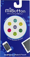 MiButton - Dot Stickers for Apple® iPod®, iPhone® and iPad® - Faces