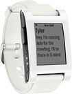 Pebble - Smartwatch for Select iOS and Android Devices - White