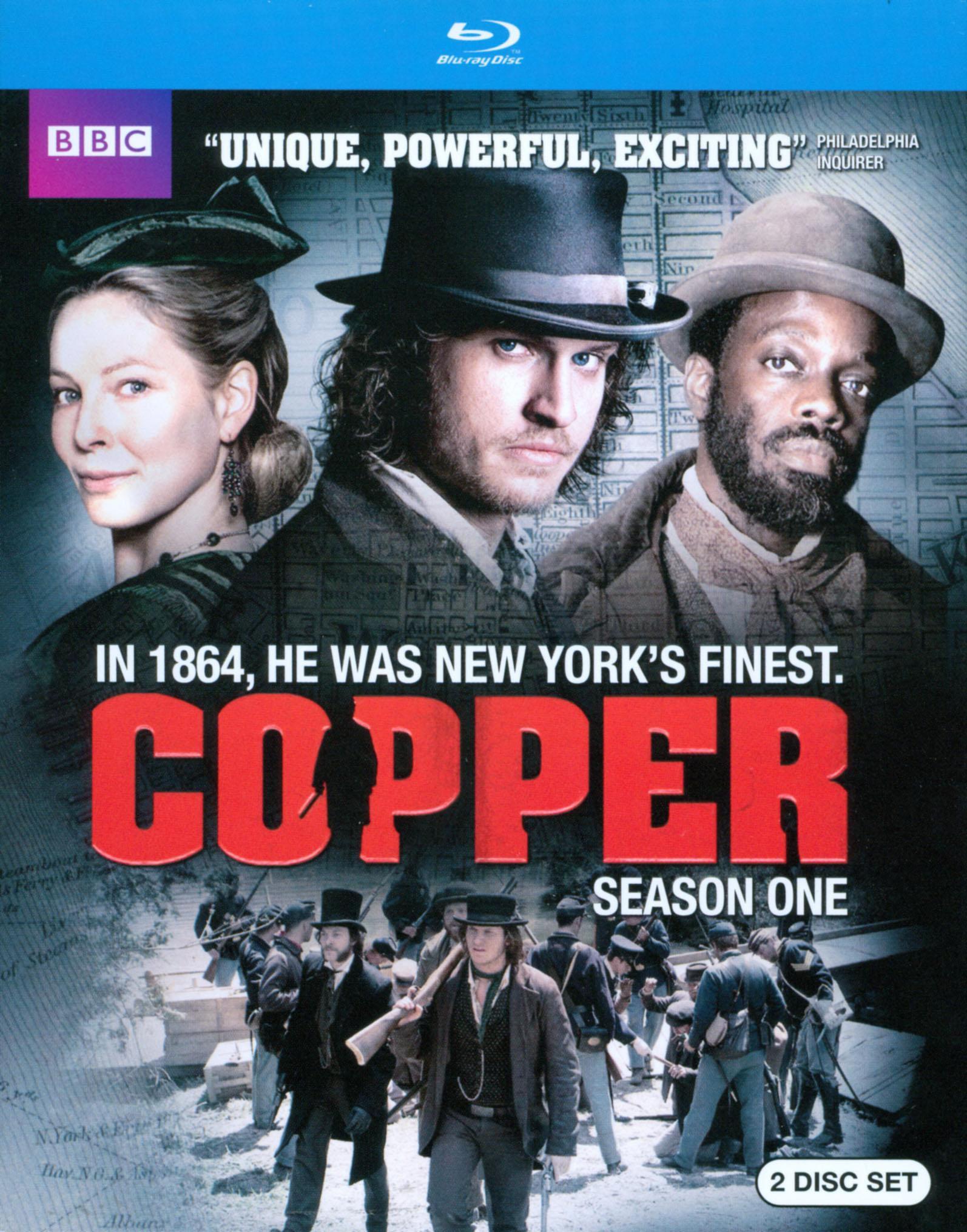 Copper: Season One [2 Discs] [includes Digital Copy] [ultraviolet] [blu-ray] 6819569