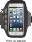 Belkin - EaseFit Plus Armband for Apple® iPhone® 5 - Black