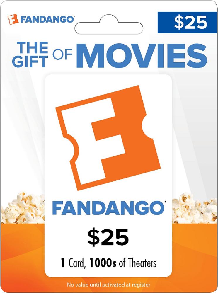 Fandango - $25 Gift Card