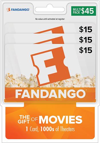 Fandango - $45 Gift Card