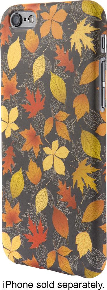 Dynex™ - Case For Apple® Iphone® 6 And 6s - Dark Gray/orange/yellow 6832044