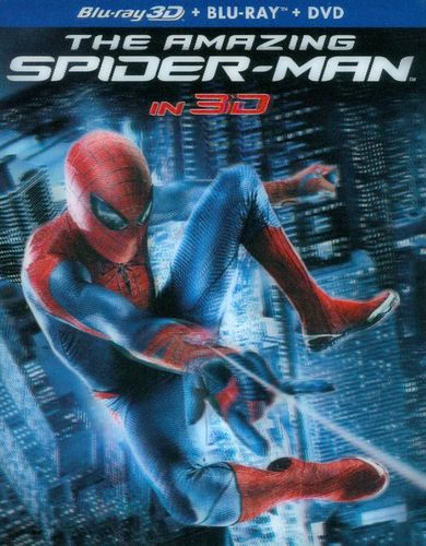 The Amazing Spider-Man [4 Discs] [Includes Digital Copy] [UltraViolet] [2D/3D] [Blu-ray/DVD]