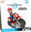 K'NEX - Mario Kart Wii Mario and Standard Bike Building Set - Red