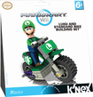 K'NEX - Mario Kart Wii Luigi and Standard Bike Building Set - Green