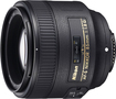 Nikon - AF-S NIKKOR 85mm f/1.8G Medium Telephoto Lens - Black