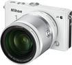 Nikon - 1 J4 Mirrorless Camera with 1 NIKKOR 10-100mm f/4-5.6 VR Lens - White