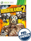 Borderlands 2 — PRE-OWNED - Xbox 360