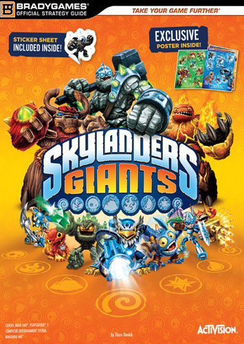 SKYLANDERS OFFICIAL STRATEGY GUIDE W EX 6846778 6846778