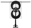 Antennas Direct - Clearstream 2v Long-range Hdtv Antenna - Black/silver