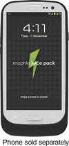 mophie - juice pack air Charging Case for Samsung Galaxy S III Cell Phones - Black