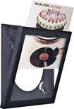 "Art Vinyl - Wall-Hanging Display for Most 12"" Vinyl Records - Black"