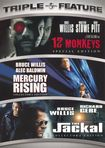 12 Monkeys/mercury Rising/the Jackal [3 Discs] (dvd) 6863611