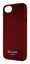 Lenmar - Meridian External Battery Case for Apple® iPhone® 5 and 5s - Red