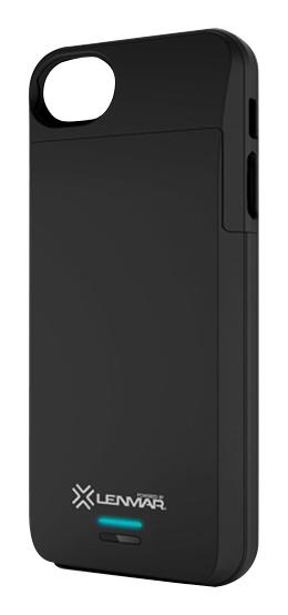 Lenmar - Meridian External Battery Case for Apple® iPhone® 5 and 5s - Black