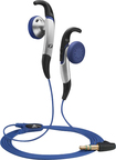 Sennheiser - Adidas MX 685 Sports Earbud Headphones - Black/Blue/Silver