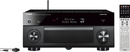 Yamaha - Aventage 1350W 9.2-Ch. Network-Ready 4K Ultra HD and 3D Pass-Through A/V Home Theater Receiver - Black