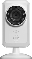 Belkin - Netcam Wireless Surveillance Camera - White