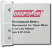 DigiPower - CN4L Rechargeable Lithium-Ion - Gray