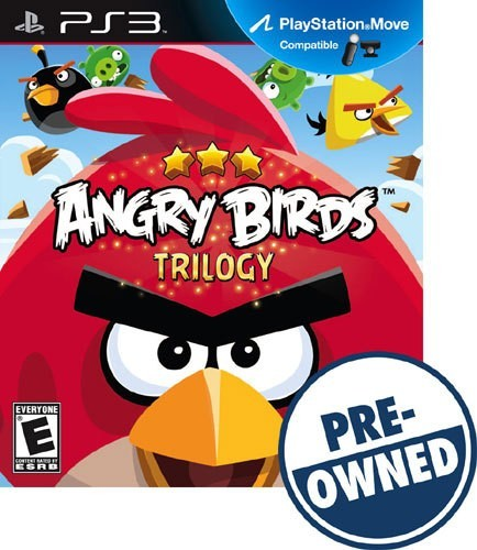 Angry Birds Trilogy - PRE-Owned - PlayStation 3