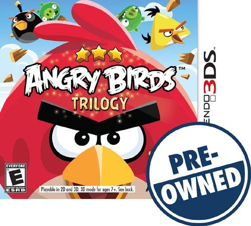 Angry Birds Trilogy - PRE-Owned - Nintendo 3DS