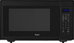 Whirlpool - 1.6 Cu. Ft. Full-Size Microwave - Black