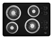 Click here for Whirlpool - 30 Built-in Electric Cooktop - Black prices
