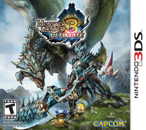 3DS-MONSTER HUNTER 3...