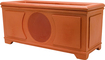 Niles - Planter Box Indoor/Outdoor Speaker (Each) - Terracotta