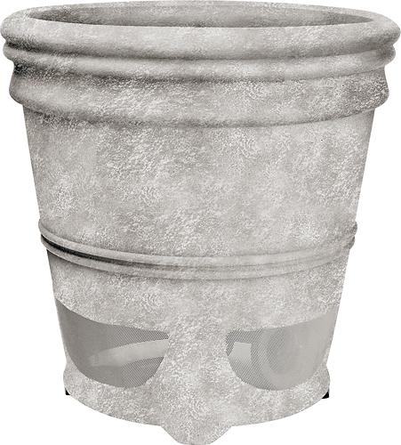 Niles - Planter Indoor/Outdoor Speaker (Each) - Weathered Concrete
