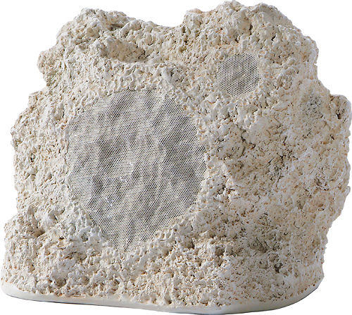 Niles - 6-1/2 2-Way Outdoor Rock Speaker (Each) - Coral