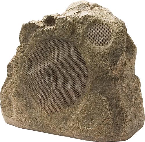 Niles - 6-1/2 2-Way Outdoor Rock Speaker (Each) - Shale Brown