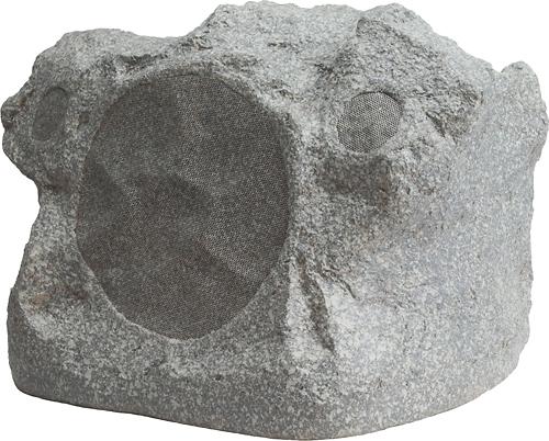 Niles - 8 2-Way Outdoor Rock Speaker (Each) - Speckled Granite