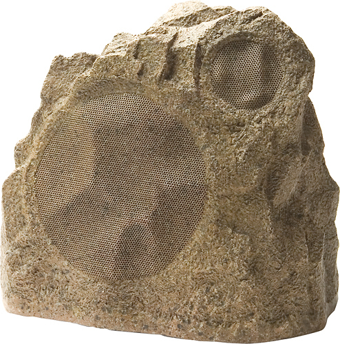 Niles - 5-1/4 Outdoor Rock Speaker (Each) - Shale Brown