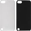 Rocketfish™ Mobile - Hard Shell Case for 5th-Generation Apple® iPod® touch (2-Pack) - Black/Clear
