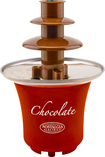 Nostalgia Electrics - Mini Chocolate Fountain - Red/Brown