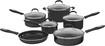 Cuisinart - Advantage 11-Piece Nonstick Cookware Set - Black