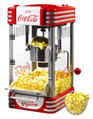 Nostalgia Electrics - Coca-Cola Series Kettle Popcorn Maker - Red