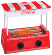 Nostalgia Electrics - Coca-cola Series Old-fashioned Hot Dog Roller - Red 6900994