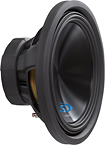 "Alpine - Type-S 15"" Dual-Voice-Coil 4-Ohm Subwoofer"